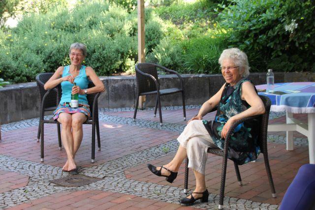 Lehreinheit mit Maria Boderix - und viel Spaß