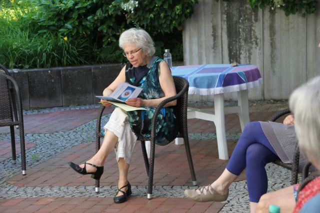 Lehreinheit mit Maria Broderix