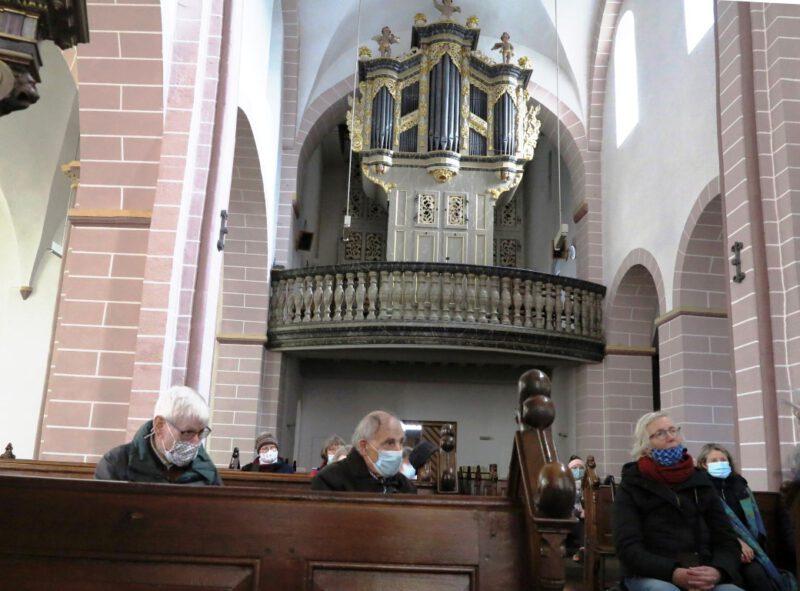 Orgelprospekt in der Kirche St. Kiliani