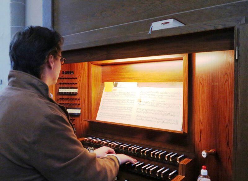 Kleines privates Orgelkonzert