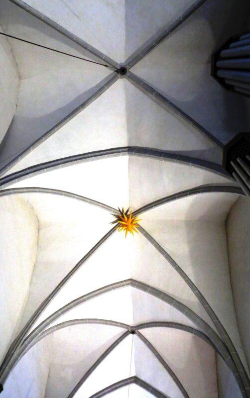 Gotisches Kirchengewölbe