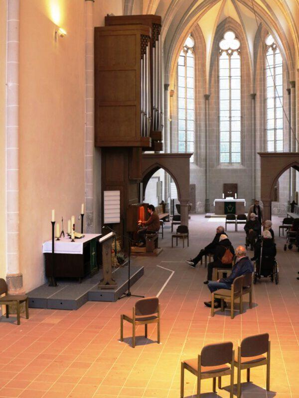 Besuch der Marien-Kirche in Höxter