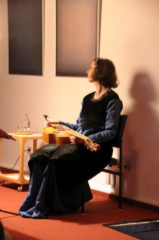Martina Kirchhof ist gespannt, wie sie vorgestellt wird