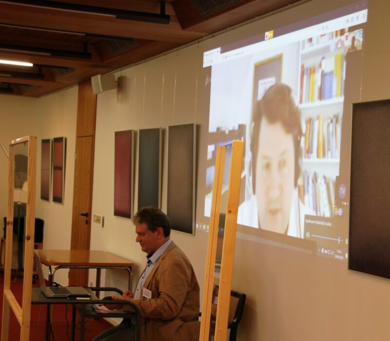 Eine Premiere - erster Online-Vortrag auf der Hegge