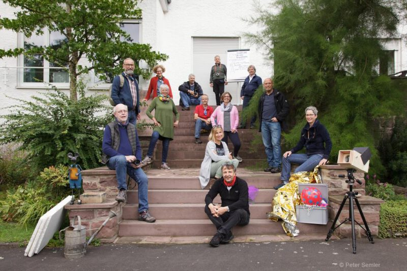 Zum guten Schluss: Das Gruppenfoto! (©Foto: K.-P. Semler)