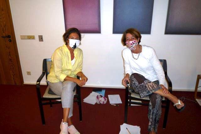 Die Referentinnen Kirsten Fay und Nicole Nolden
