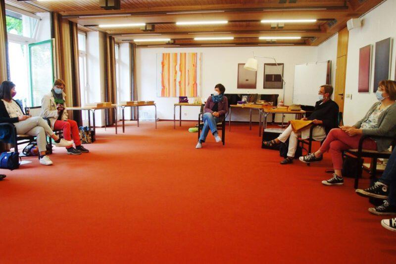 Godly Play-Fortbildnerin Dr. Delia Freundereich