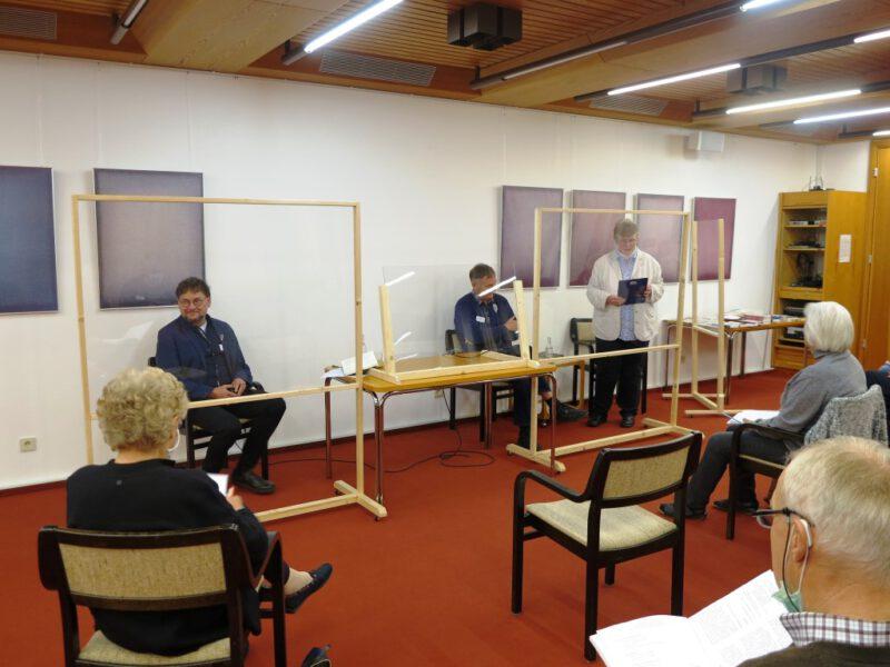 Dorothee Mann im Gespräch mit Volker Krebs und Andreas Exner