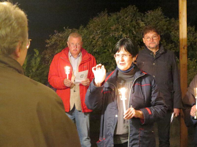 Christine Lieberknecht freut sich, auf der Hegge mitsingen zu können