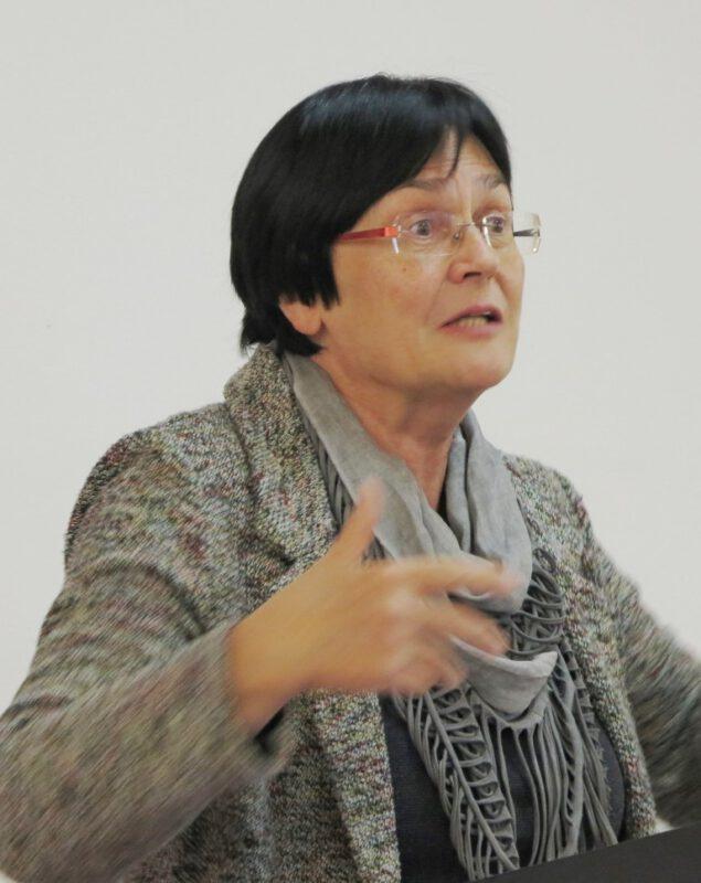 Christine Lieberknecht - Eine lebhafte Referentin