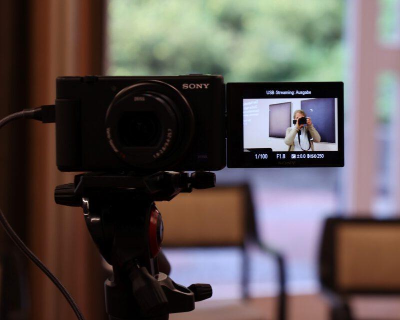Test: Auch die Web-Kamera funktioniert!
