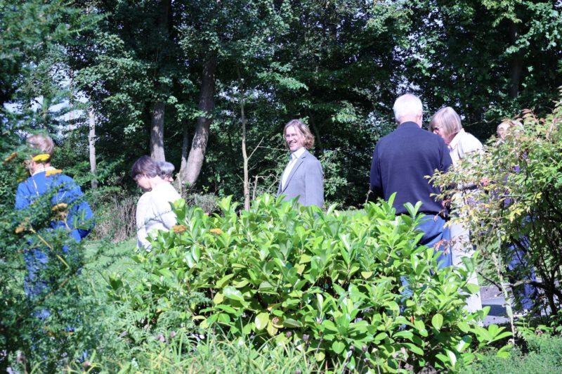 Pausengespräch mit Igal Avidan im Hegge-Park