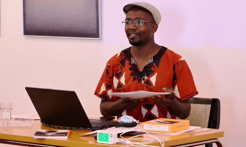 Referent Dr. Keith Hamaimbo