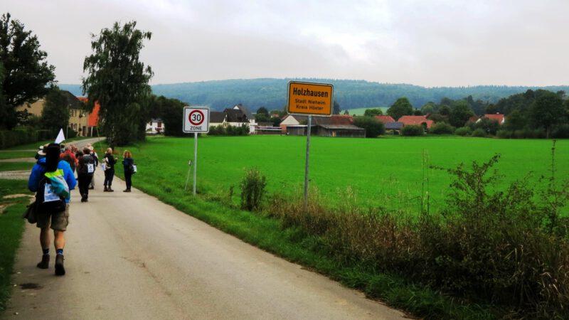 Der Zwischenstopp in Holzhausen mit Kaffepause ist in Sicht